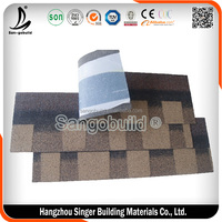 ISO9001 Approved Laminated Asphalt Roof Tile For Cheap Roof Tile