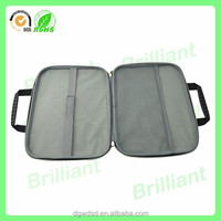 PU protective 17 inch laptop case with straps