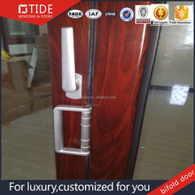 Solid wood frame bi folding door