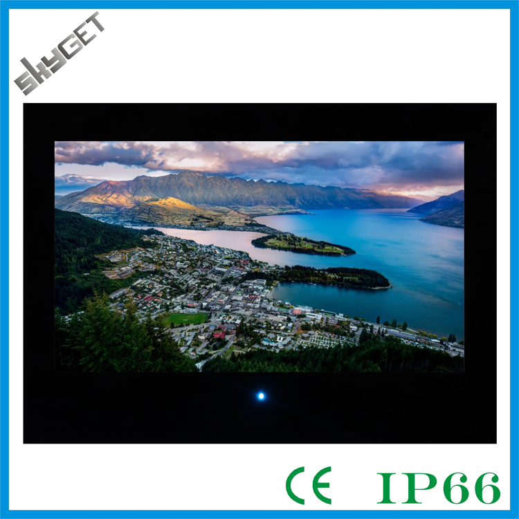 built-in digital tv Waterproof TV with Tawny Mirror with CE certificate