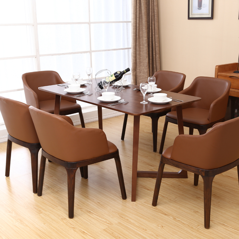 Wooden Leather Wood Designer Beetle Dining <strong>Chair</strong>