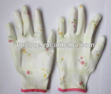 FQGLOVE transparent nitrile custom printed mma gloves