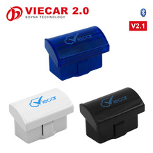 Supports 7 OBD2 Protocols Works Android/Symbian/PC ELM327 Bluetooth Viecar 2.0 for Car Trouble Code Read and Diagnostic