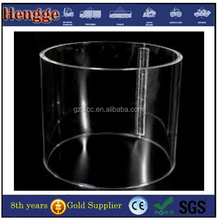 Large Diameter Transparent Hollow Acrylic Tube, Plastic Tube