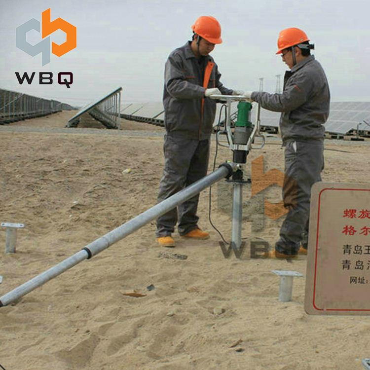 Anchoring Used Ground Drilling Pile Driver Machine