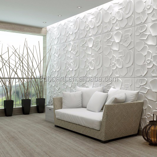 White Color 3D China Wallpaper 3D Brick Wall panels for home decoration