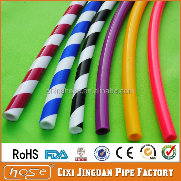 Export Europe FDA Approved Food Grade 1.5M 11x17mm Colorful Washable Durable Silicone Hookah Hose, Shisha Hookah Silicone Hose