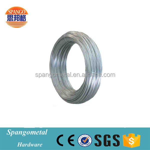 Construction used 14 gauge stainless steel wire