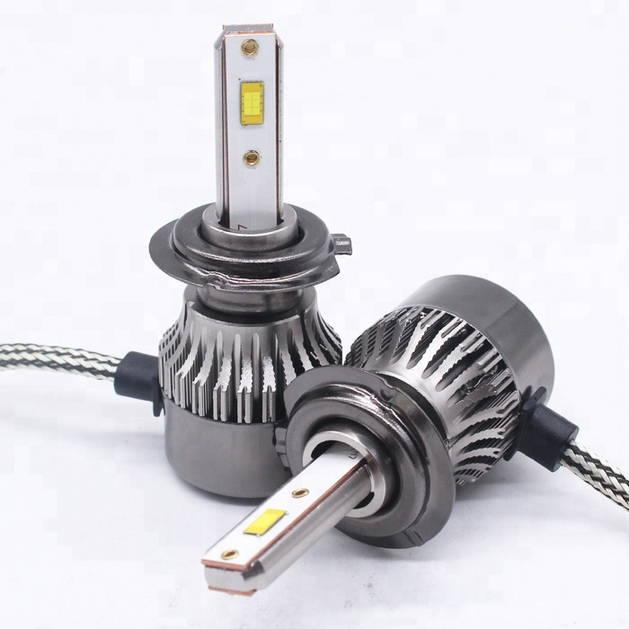 Mini k3s 12V Car auto <strong>lamp</strong> H16 <strong>H10</strong> 880 881 H1 H3 H11 9005 9006 HB3 HB4 9012 LED H7 Head lights bulb