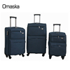 Factory Cheap Stock 20 24 28 32 inch 4 Wheels Soft 1680D Nylon Material Travel Luggage Sets