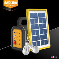 portable small home system complete solar panel power system