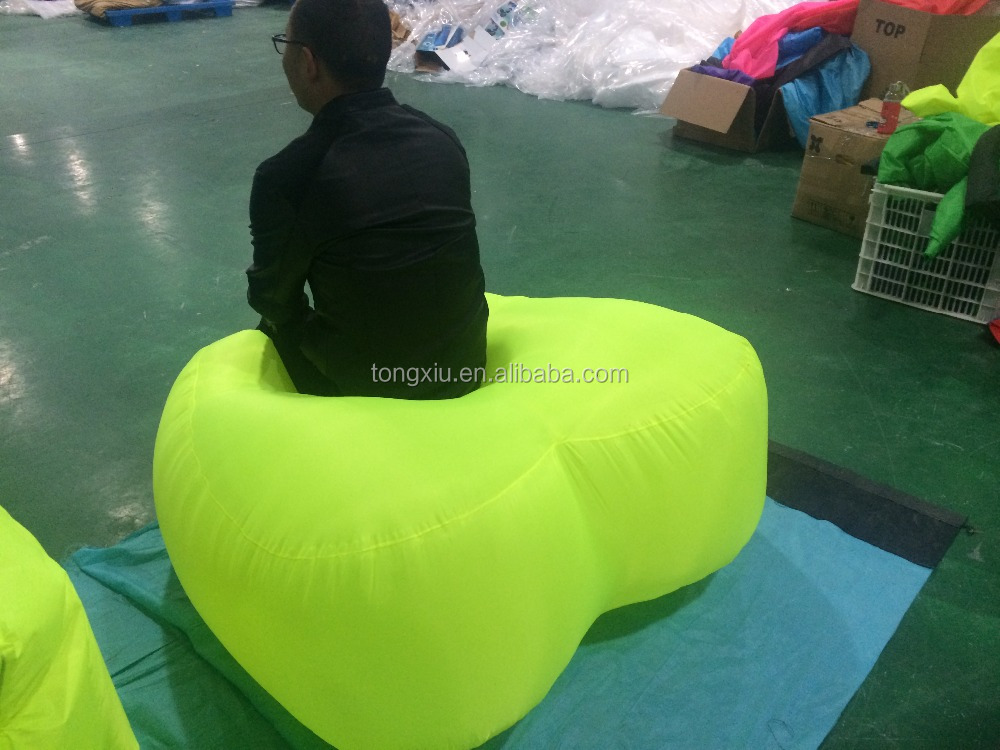 2016 New design heart shape inflatable chair