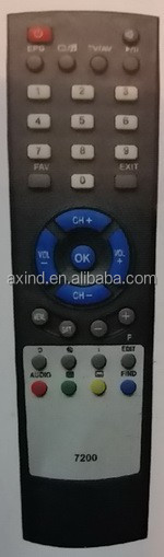 REMOTE CONTROL FOR TV MODEL BOTECH 7200, FOR TURKEY MARKET, ANHUI FACTORY