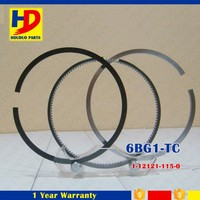 Excavator Engine Piston Ring For Isuzu Engine 6BG1 6BG1-TC OEM 1-12121-115-0