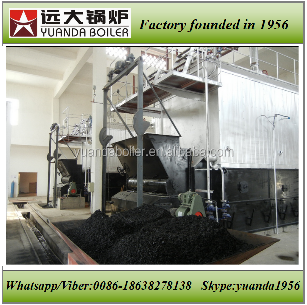 2t 4t 6t 8t 10t water tube coal fired steam boiler for sale