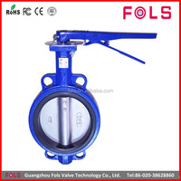 Best supplier carbon steel soft sealing butterfly valve China