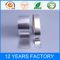 Heat Resistant Rolled Air Conditioner Silver Electric Aluminum Foil Adhesive Tape