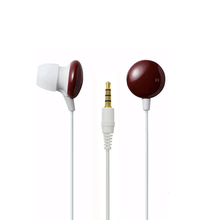 Cheap oem headphones for mp3 player/smartphone/mobile phone quality headphones and colorful earpiece with zipper bag packaging