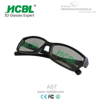 virtual glasses plastic 3d movies glasses for polarized film