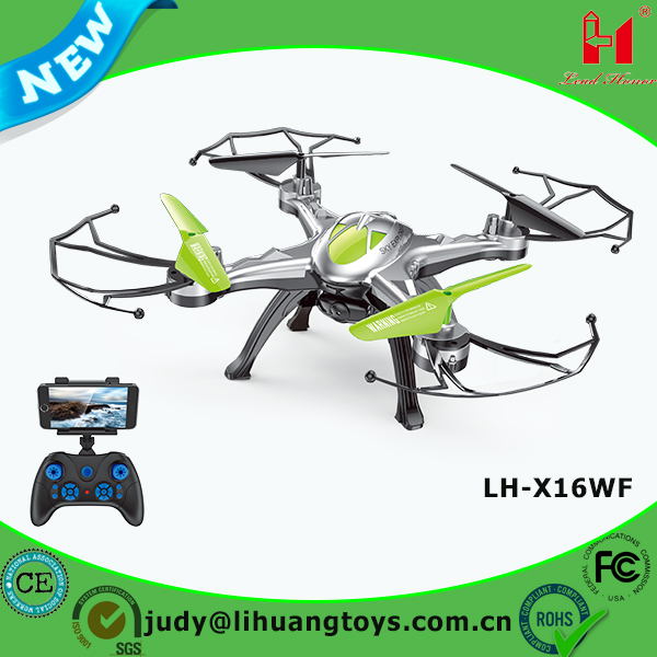 LH-X16WF 2.4g model remote control aircrafts with camera wifi fpv camera