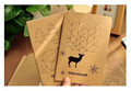 Fco-friendly Kraft Cover Notebook/Custom Paper Notebook/Blank Notebook