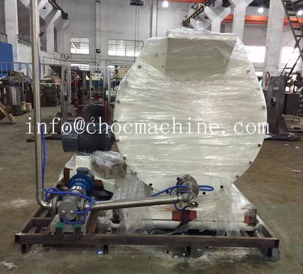 chocolate conche grinder exported to USA