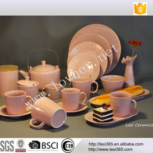 Fine Bone China Afternoon Tea Coffee Sets With Packing Gift Box For Wedding Porcelain Tableware Ceramic Dinner Set