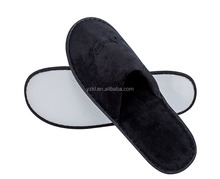 Black Towel Slippers for Hotel Bathroom Accessories