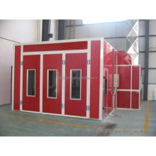 JD used saico spray booth heat activated paint