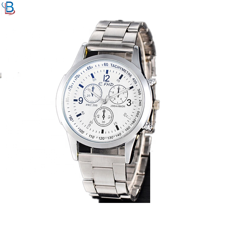 OEM wholesale Men's watch Quartz Blue-ray wristwatches
