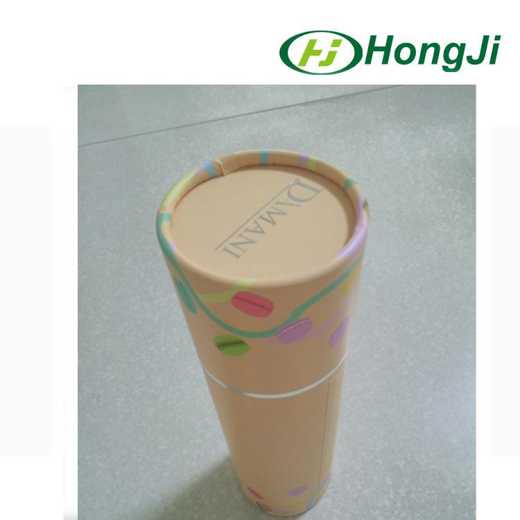 Top quality small round cosmetic cylinder box paper tube