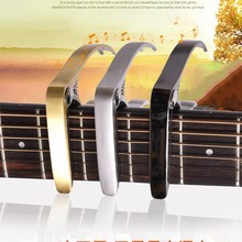 Metal zinc Alloy Capo for acoustic guitars and electrics guitar Capo