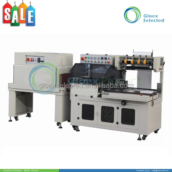 Quality Suppliers L type mobile phone box shrink wrapping machine