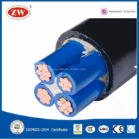 Stranded copper conductor PVC insulation PVC sheathed Power Cable VV