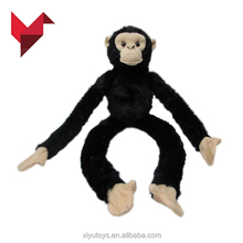 china new year long arms and legs monkey soft plush toy