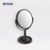 Round superior revolving dual side cosmetic beauty mirror with storage function , Black