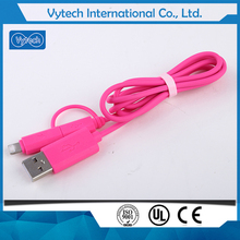 Adapter Cable For micro usb fast charge 2 in 1 micro USB data