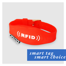 High Quality Proximity RFID Silicone Wristband