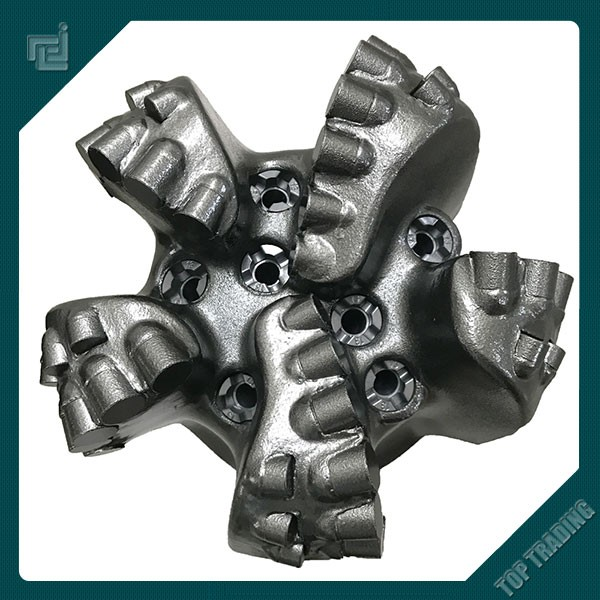"API 7-1 Spec SRT 6"" diamond cutter PDC bit for oil well drilling equipment"