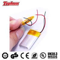 CB test approved lipo 302530 032530 lithium polymer type 3.7v 170mah li ion battery for bluetooth speaker