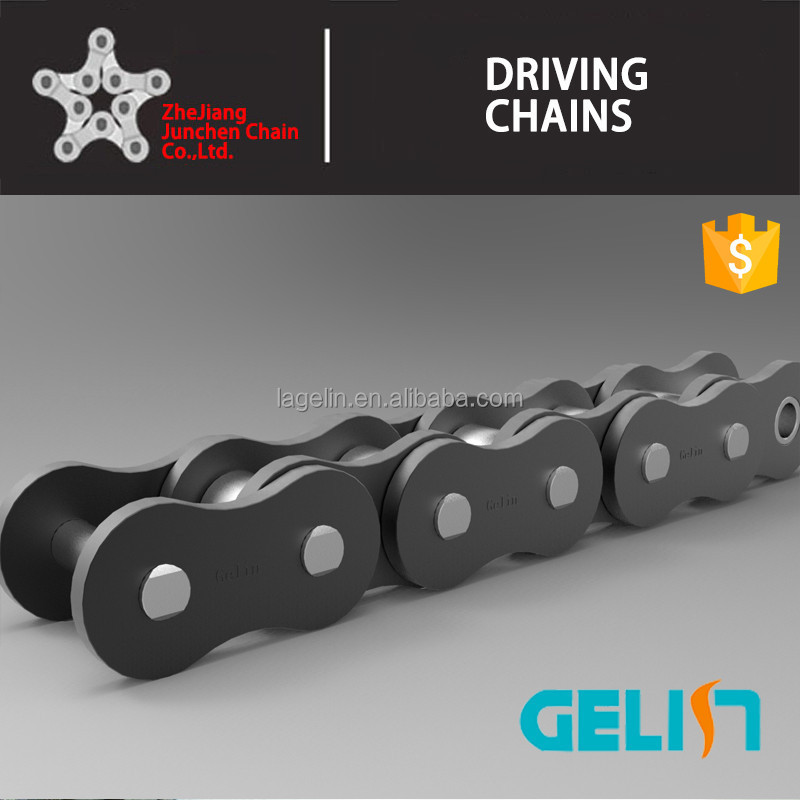 Simplex duplex triplex alloy steel short pitch precision roller chains (A series)