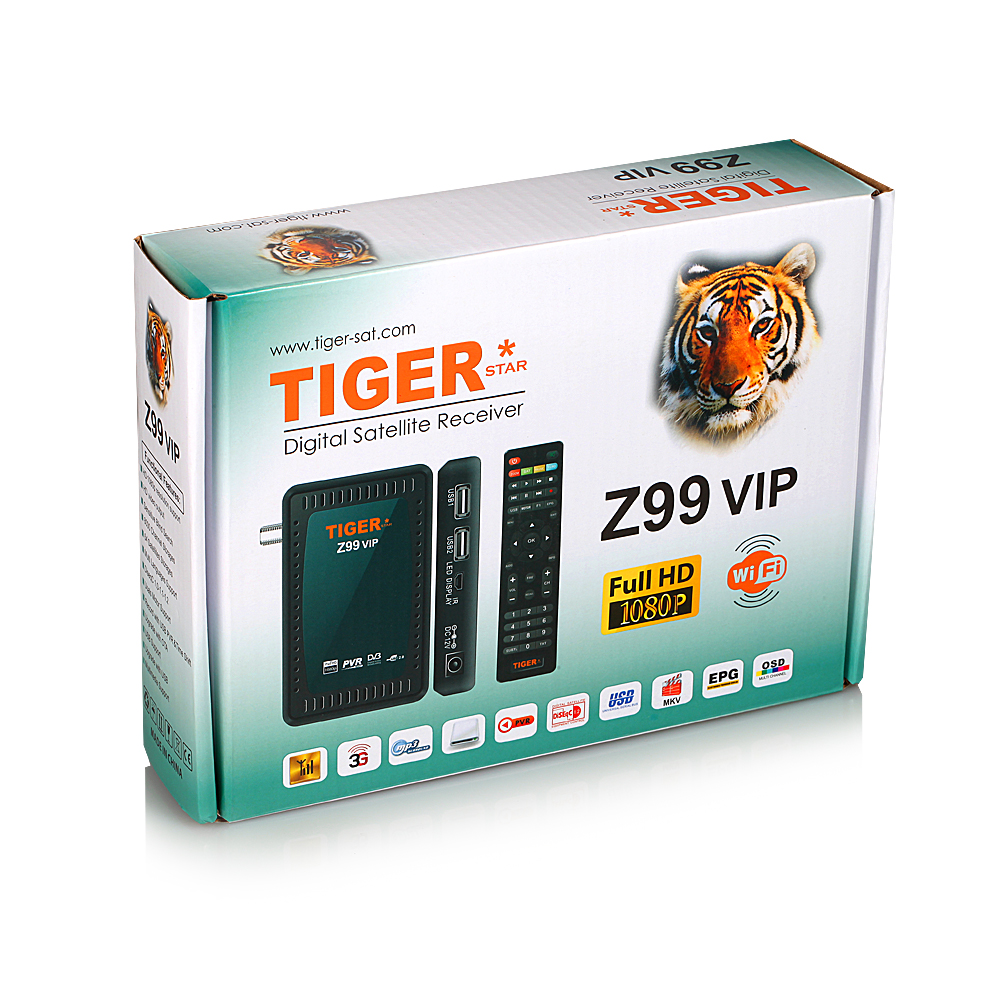 Tiger Star Z99 VIP power vu set top box remote control