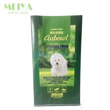 Factory cheap price pp woven dog food packaging bag/animal feed packaging bag
