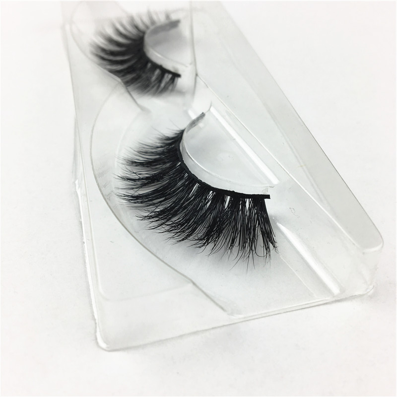 own brand 100% handmade customed packaging 3D mink lashes