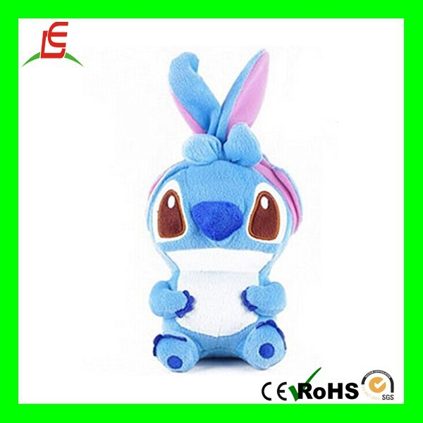 Adorable 3D HOT cartoon character STITCH plush toy phone case