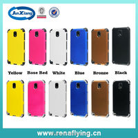 2 in 1 high quality matte armor case for Samsung galaxy note 3