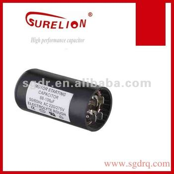 compressor motor starting capacitor CD60