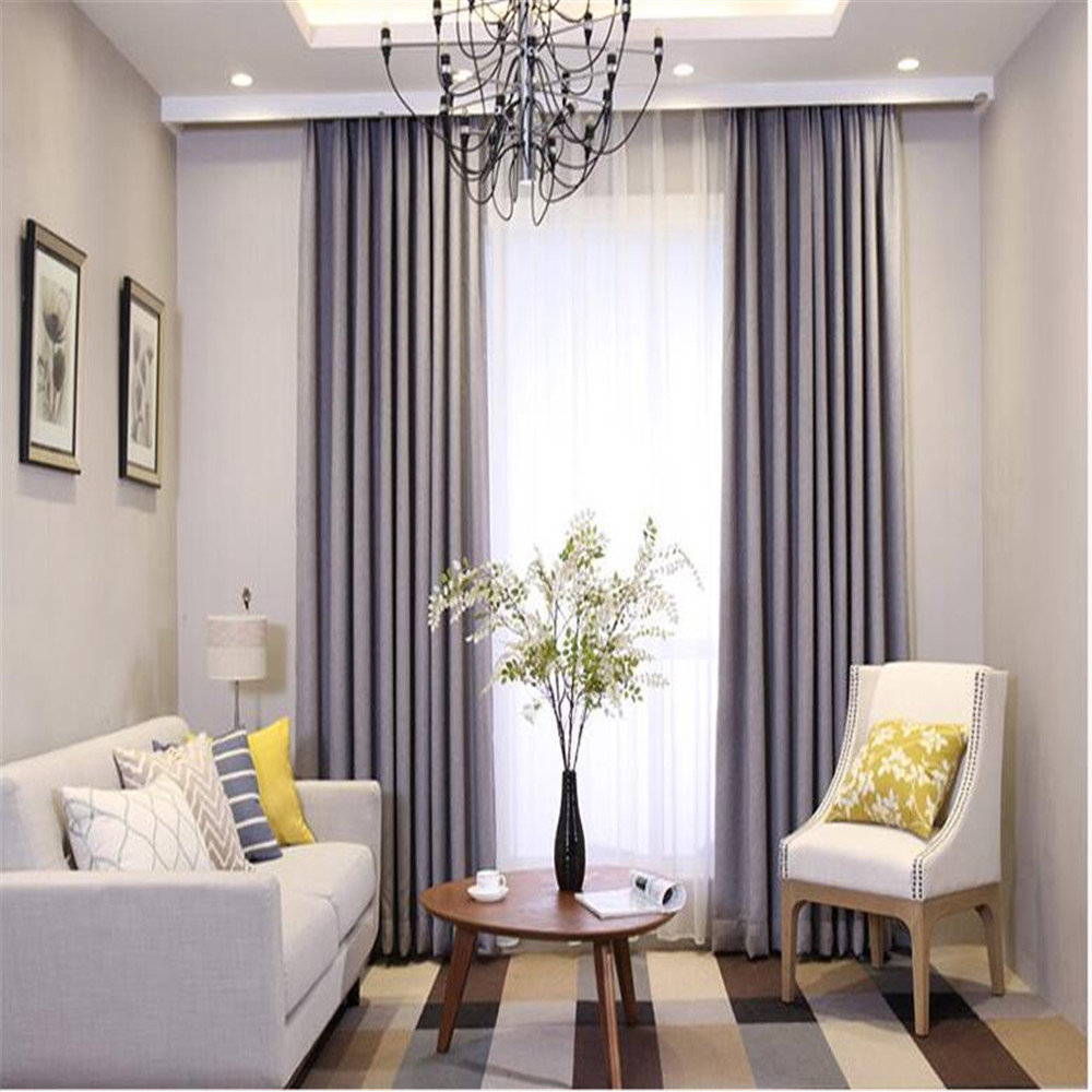 european style window curtains for office