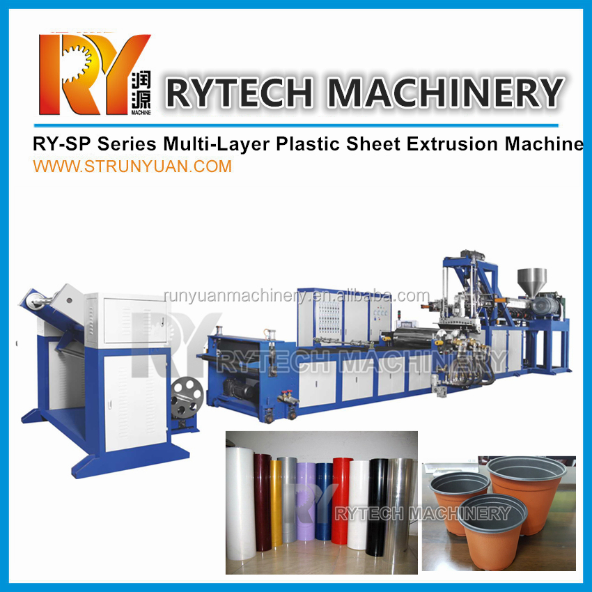 Best Sale Multi Layer Plastic Sheet Screw Extruder Machine