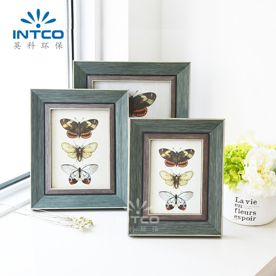 INTCO hot selling lovely butterfly plastic picture frame